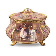 Musical Jewelry Boxes for Girls. Click on the image to read the article.