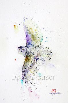SNOWY in FLIGHT - The Art of Dean Crouser