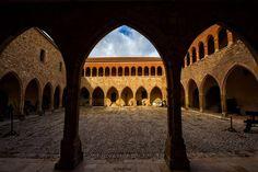 Teruel. Castillo de Mora de Rubielos, declarado Monumento histórico-artístico desde 1931 y considerado Bien de Interés Cultura