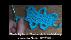 How to Crochet Bruges Lace Tape