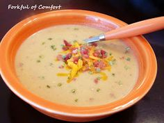 Forkful of Comfort: Loaded Potato Soup