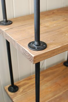 Free Standing Pipe Shelves Google Search For The
