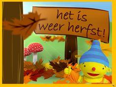 Herfst - Boeken/versjes Het is weer herfst is een digitaal prentenboek met Puk
