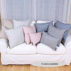You will love the CONFORT cushion. With its blend of cotton and acrylic, this cushion is so soft. Available in 5 classic colors : soft grey, navy, dark grey, beige or soft pink. Dark Grey, Throw Pillows, Beige, Classic, Pink, Color, Turkish Delight, Derby, Toss Pillows