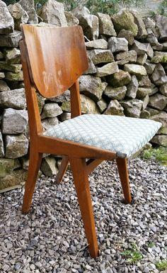 VINTAGE - Designer Mid Century Wooden Chair