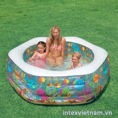 Bể bơi phao đại dương lục giác INTEX 56493
