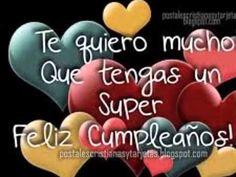 Happy Birthday Wishes Spanish, Happy Birthday Wishes Cake, Happy Brithday, Happy Birthday Video, Happy Birthday Celebration, Birthday Wishes Messages, Happy Birthday Pictures, Happy Birthday Quotes, Birthday Images