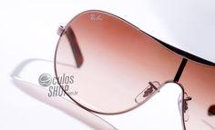 Formato máscara da Ray Ban. #oculos #eyewear #sunglass #sol #rayban #máscara #estilo #moda #sol #formato #feminino