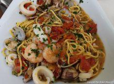 Rezept für Spaghetti Frutti di Mare.