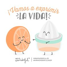 Es jueves ¡vamos a sacarle el máximo provecho! Let's squeeze everything out of life! It is Thursday: let us make the very most of it! Cute Images, Funny Images, Funny Pictures, Love Phrases, Its A Wonderful Life, Mister Wonderful, Spanish Quotes, Good Thoughts, Cute Love