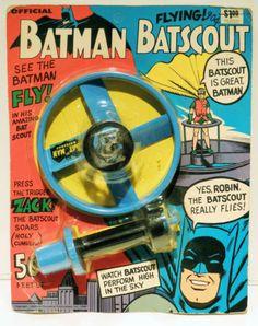 Vintage 1966 Batman Batscout MOC | eBay
