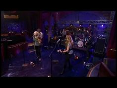 Courtyard Hounds on Letterman. AWESOME!