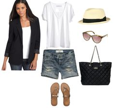 A travel outfit inspired by Diane Kruger
