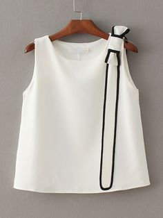Since this summer is so hot, then we need something special to wear.  #White…