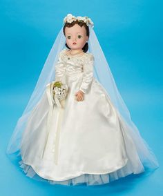 View Catalog Item - Theriault's Antique Doll Auctions. Cissy bride vintage doll by Madame Alexander