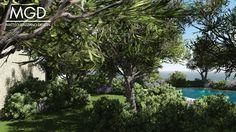 5 Matteo gazzano Pool Mediterranean garden