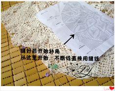crochelinhasagulhas: Blusa branca com mandala de abacaxi em crochê