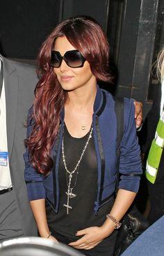 Cheryl Cole - Cheryl Cole Lands At Heathrow