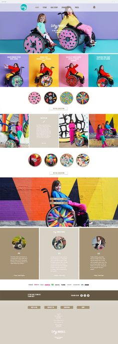 Izzy Wheels transform a medical device into a piece of fashion and self expression. The brand was founded by two sisters in Ireland. Website Creator, Amazing Websites, Create Website, Wheel Cover, Web Design Inspiration, Dublin, Ireland, Sisters, Wheels