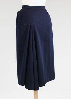 "Charles James ""Side Saddle"" skirt. 1952. back view"