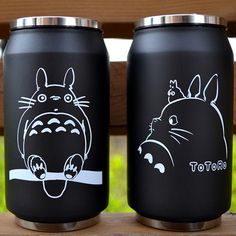 Save Rare Totoro Kawaii My Neighbor Travel Mug Cup Tea Coffee Drink Anime Soot Manga Catbus Hayao Miyazaki Studio Ghibli Birthday Gift - арты аниме Hayao Miyazaki, Anime Body, Manga Anime, Anime Art, Tasse Thermos, Geek Mode, Anime Pokemon, Vacuum Cup, Studio Ghibli Art