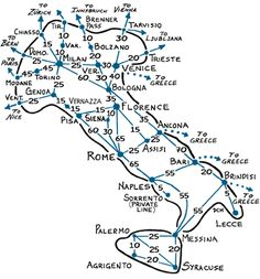 Rick Steves train travel in Italy
