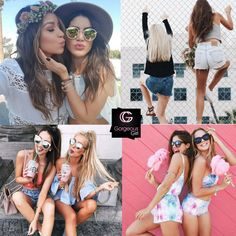 Girls can survive without a boyfriend, but they can't survive without a best friend #FriendshipGoals #BFF www.gorgeousgirl.com/