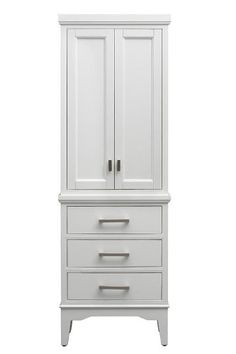 "Manor Grove Linen Storage Cabinet, 65""Hx22""Wx15""D, WHITE Home Decorators Collection http://www.amazon.com/dp/B00KBZ7P8Y/ref=cm_sw_r_pi_dp_1R1Utb00V3AR5M41"