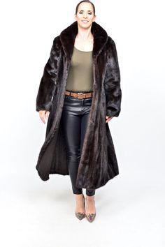 SAGA Mink Fur Coat mahogany black no blackglama nerz vison pele de marta HOPKA    Clothing, Shoes & Accessories, Women's Clothing, Coats & Jackets   eBay!