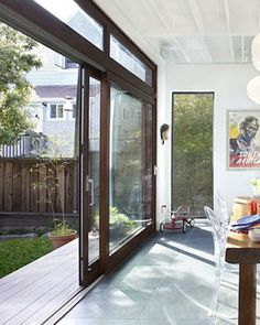 sliding patio doors.