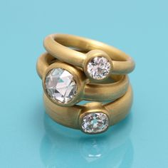 22ct #OldCut #Gold #Rings by Deborah Cadby http://www.fldesignerguides.co.uk/engagement-ring-designer/deborah-cadby