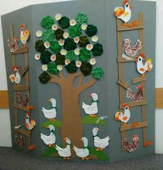 Preschool tree craft ideas Seasons tree craft ideas for preschoolers Rainbow and tree craft idea Christmas tree craft idea Foam tree craft for kids Tree art activity for preschool,toddlers Kids Crafts, Tree Crafts, Preschool Crafts, Diy And Crafts, Craft Projects, Paper Crafts, Craft Ideas, Classroom Door, Classroom Themes