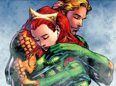 10 Best Known Married Super Couples   Arthur Curry (Aquaman)/ Mera