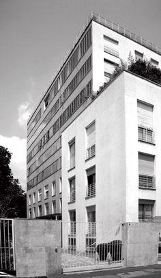 Condominio XXI Aprile, Mario Asnago e Claudio Vender, 1950-1953, via Lanzone 4, Milano (Foto di Alessandro Sartori)