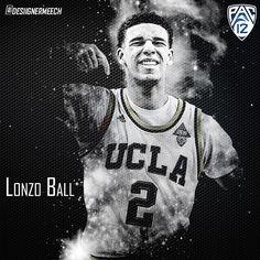 Demetrius Robinson Graphics | Sports Designs | NCAAB | Lonzo Ball