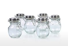S/6 Orcio Spice Jars on OneKingsLane.com  Made by Global Amici's