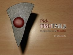 FISHTAIL5  'El Nido Del CUCO'  by eXiMienTa púas el nido del cuco, puas el nido del cuco Púa de Guitarra design guitar picks by eXiMienTa