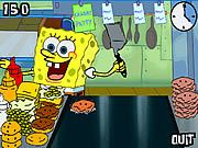 Help Spongebob make as many Krabby Patties as he can before his breakfast, lunch and dinner shifts are over! Watch out for special orders and watch out for Patrick, he is hungry.    Read more: http://www.onlinegames24h.com/3d-shockwave-games/5250/spongebob-square-pants-flip-or-flop.html#ixzz1uKBMbNDN