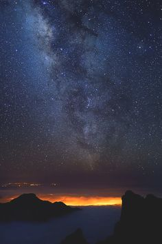 "visualechoess: ""Via lactea by: Borja Azpiroz """