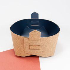 Panier de stockage en liège  Rangement Design  par Atticora sur Etsy