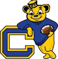 California Berkeley Golden-bears Retro Logo