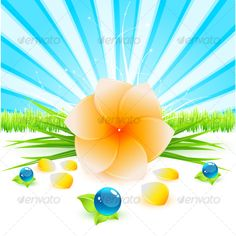 Realistic Graphic DOWNLOAD (.ai, .psd) :: http://vector-graphic.de/pinterest-itmid-1000073687i.html ... Spa composition ...  background, dop, ecology, environment, flower, grass, green, light, nature, nature, spa, sun, water, yellow. blue  ... Realistic Photo Graphic Print Obejct Business Web Elements Illustration Design Templates ... DOWNLOAD :: http://vector-graphic.de/pinterest-itmid-1000073687i.html