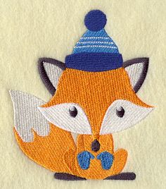 Cozy Winter Wear Fox embroidery Fox Embroidery, Embroidery Needles, Free Machine Embroidery Designs, Applique Designs, Fox Design, New Theme, Diy Hairstyles, Pet Birds, Needlework