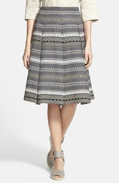 Weekend+Max+Mara+'Eolie'+Jacquard+Stripe+Skirt+available+at+#Nordstrom