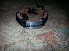 Leather Love Bracelet Made to Order.