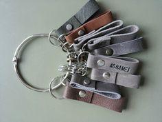 Keyholders, leather