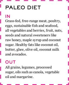 for those who ask me how i eat and What is the Paleo Diet?  here is a simple answer for you!! :)