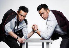 Joseph Chang y Tony Yang para GQ Taiwán Enero 2017