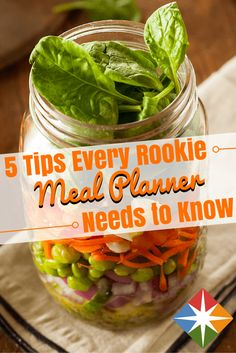 Rookie cook? No problem--our own rookie taught herself how to meal plan for a week. What did she think of it? She lets you know and shares her tips and tricks for meal planning for yourself. It's a healthy way to sneak in nutrition and take the guesswork out of your next meal.