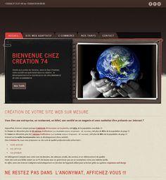 Nouveau Design de notre site web